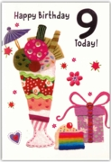 GREETING CARDS,Age 9 Female 6's Craft Ice Cream