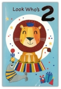 GREETING CARDS,Age 2 Male 6's Lion & Seal