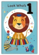 GREETING CARDS,Age 1 Male 6's Lion & Seal