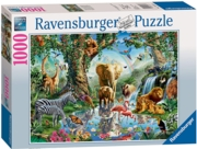 JIGSAW,1000pc.Adventures in the Jungle (Ravensburger)