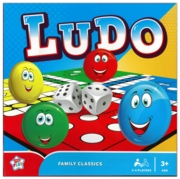 LUDO GAME, 35cm Board, 2-4 Players, Bxd.