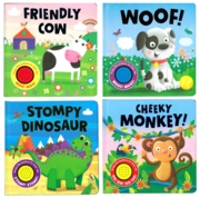 BOARD BOOK,Assorted Sounds (Woof,Dino,Cow & Monkey)
