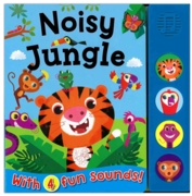 BOARD BOOK,with Sounds,Noisy Jungle
