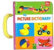 BOARD BOOK,with Carry Handle, My Picture Dictionary