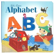 BOARD BOOK,Lets Learn,ABC Alphabet