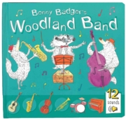 BOARD BOOK with SOUND, Woodland Band (12 Sounds)
