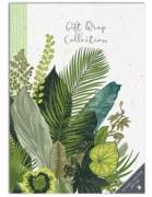 GIFT WRAP COLLECTION, Botanicals (10 Sheets/22 Tags)