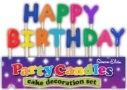 CAKE CANDLES,Happy Birthday H/pk