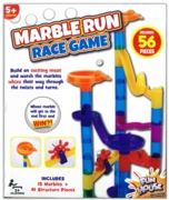 MARBLE RUN RACE GAME 56pc Boxed
