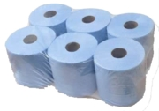 BLUE ROLL, PAPER TOWEL 2 Ply Centrefeed 190mm x 150m