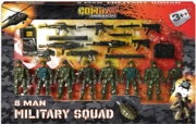 COMBAT MISSION,8 Man Military Squad Boxed