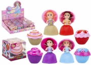 MAGICAL Mini Cupcake Princess Doll, 8cm  Scented, Asst. CDU