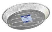 ROASTING TRAY, FOIL, OVAL Large, 443 x 323 x 70mm