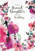 GREETING CARDS,Granddaughter 6's Floral