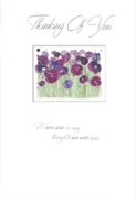 GREETING CARDS,Thinking of You 6's Floral