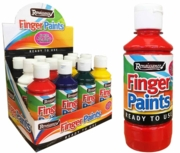 FINGER PAINTS,250ml 6 Asst. Col.in CDU