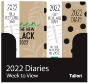 DIARY, Slim Week To View Eco Recyclable