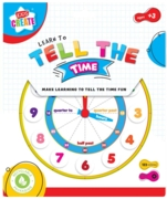 CLOCK,Kids Create.Learn to Tell the Time H/pk