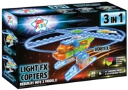 BUILDING BRICKS,LED Light-Up, FX Copters 3 in 1 Boxed