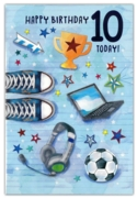 GREETING CARDS,Age 10 Male 6's Pastimes