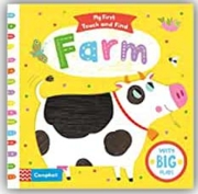 BOARD BOOK,My First,Touch & Find, Farm (Was £6.99)