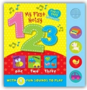 BOARD BOOK,My First,Sounds, 123