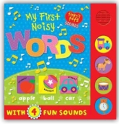 BOARD BOOK,My First,Sounds, Words