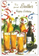 GREETING CARDS,Brother 6's Beer