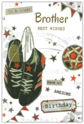 GREETING CARDS,Brother 6's Football
