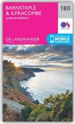 MAP,O/S Barnstaple & Ilfracombe (with Download)