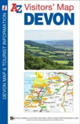 MAP,A-Z Devon Visitors