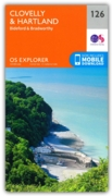 MAP,O/S Clovelly & Hartland Explorer 2.5in (with Download)
